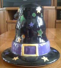 Wizard or Witch's Hat Candle Holder