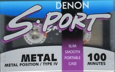 RAR!! DENON  S-Port Metal  Collection  Audio Cassette  ,NEU!OVP!