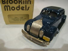 1/43 BROOKLIN 7 CHRYSLER AIRFLOW 4 DOOR SEDAN 1934 BLUE