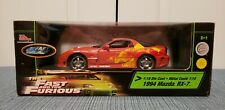 The Fast & The Furious; 2 Fast 2 Furious 1:18 1994 Mazda RX-7