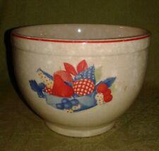 "Vintage Universal Cambridge - ""Calico Fruit"" Small Bowl,  5 IN Diameter"