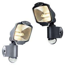 Motion Sensor PIR Detector Outside Security Floodlight Yard Flood Lamp Light UK