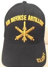 e56c62afa0fd8c MILITARY CAP U.S. ARMY AIR DEFENSE ARTILLERY BLACK HAT