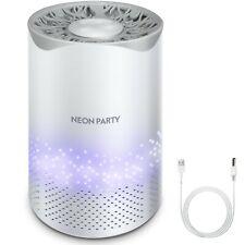 Uv Light Air Purifier Hepa Filter Cleaner Odor Eliminator for Home, Office, Car