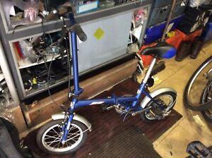 "Foldable Bike 14"" Wheel -Compactible"