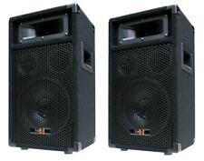 """2x 400W DJ PA PARTY LAUTSPRECHER PAAR Disco Boxen 20cm/8"""" Bass PW20 - NEU"""