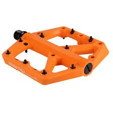 Crank Brothers Stamp 1 Large Platform Pedals, Orange