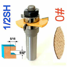"""1 pc 1/2"""" SH Biscuit #0 Slotting 5/32""""x5/16"""" Joint Assembly Router Bit S"""