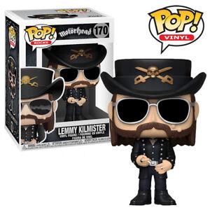 Lemmy Kilmister Motorhead Official Heavy Metal Music Funko Pop Vinyl Figure