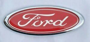 RED Ford Badge Custom Emblem high quality free p&p