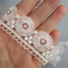 5 Meter Vintage Lace Trimmings Wedding Dress Ribbon Clothes Bag Hat Sewing Craft