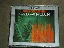 Mozart Don Giovanni 3-CD set Carlo Maria Giulini Nicolai Ghiaurov