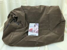 New Liberator Wedge Covers Chocolate Color Microfiber 32in