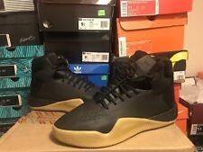 Adidas Originals Tubular Instinct Boost Shoes Black Leather Gum BY3611 Mens 8
