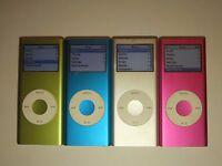 Apple iPod nano 2nd generation. 2GB, 4GB