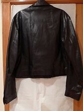 GIANNI VERSACE 1990s ESTATE COLLECTION MEN'S LEATHER JACKET ITALY SIZE 54/XL
