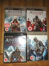 Assassins Creed Brotherhood, Revelations Greed.Greed 2  ps3 bundle