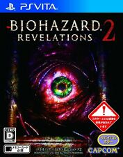 USED PS VITA BIOHAZARD REVELATIONS 2 CAPCOM Games Free Shipping Japan import