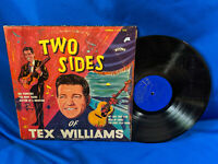 Tex Williams LP Two Sides of Tex Williams Boone 1210 Rare Country