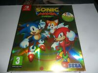 SONIC MANIA PLUS   NINTENDO  SWITCH GAME  NEW SEALED