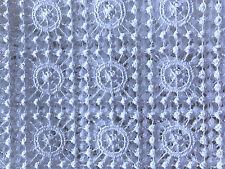 Spitzentischdecke Tischdecke Spitze festlich gesäumter Rand weiß  rund 160cm N4