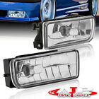 OE Replacement Clear Fog Lights Lamps Euro Style For 1992-1998 BMW 3-Series E36