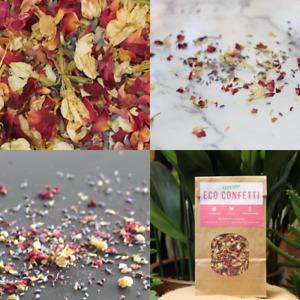 Dried Flower Confetti 50g Biodegradable Wedding Decorations *Blush Colour Mix*