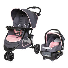 New ListingCar Seat and Stroller Combo Set Baby Infant Kid Newborn Travel System Pink New