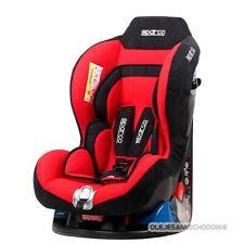 F5000k Kindersitz SPARCO Autositz 0-18kg Gruppe 0-I  R44/04  0-4 J  ROT +DHL