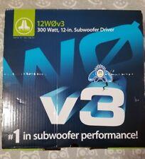 "JL AUDIO 12W0v3 Car Stereo 12"" Subwoofer SVC 4-Ohm 600W 12W0v3-4 Sub W0v3 New"