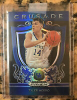 Tyler Herro 2019-20 Panini Prizm Draft Picks Crusade Blue Prizm Kentucky/Heat 🔥
