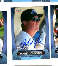 Mark Johnson 2016 West Michigan Whitecaps auto signed team set card Tigers
