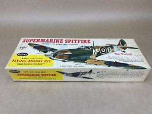 Guillows Supermarine Spitfire Flying Model Kit - Wing Span 16 1/2 Inches - BOXED