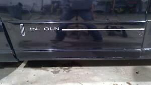 02 03 Lincoln Blackwood Left Driver Door Molding/Trim/Cladding