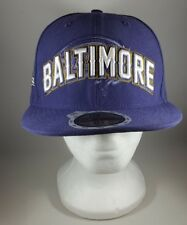 New Era Baltimore Ravens Purple Kids Fitted Hat Cap 2011 59Fifty Size 6 5/8 53cm