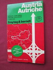 Freytag & Bernt Austria Scale 1:600000 Road map