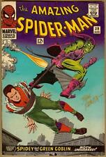 Amazing Spider-Man #39 - Signed By John Romita - Fine+