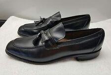 Mens Allen Edmonds Biscayne Size 10.5B 10 1/2  Black Tassel Loafers