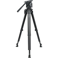 OConnor 1040 Fluid Head and flowtech 100 Tripod System with Handle and Case