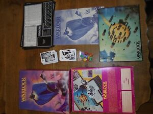 Warlock The Game Of Duelling Wizards Vintage Games Workshop RPG 1980 Complete