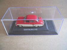 WARTBURG 312 Legendary Cars 1:43 Die Cast in Box in Plexiglass [MV10]