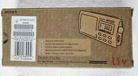 Sony Liv Portable 4-Band TV/Weather/FM/AM Clutch Radio ICF-M410LIV3