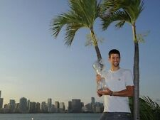 Novak Djokovic ‏ 10 x 8 UNSIGNED photo - P23 - HANDSOME!!!!
