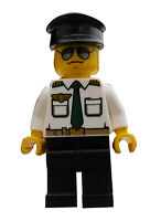 Lego Flugzeugpilot Pilot Kapitän Minifigur Legofigur Figur Mann City cty403 Neu