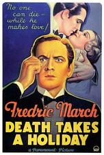 Death Takes a Holiday Movie POSTER 27 x 40 Fredric March Evelyn Venable USA, NEW