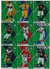 2020 Panini Mosaic Football Green 24 Card Lot McNabb Goff Vick Roethlisberger