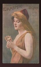 Advert glamour ERASMIC SOAP 1909 PPC