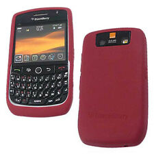 NEW OEM Blackberry Javelin Curve 8900 Dark Red Gel Silicon Skin Cover ORIGINAL