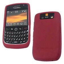 New Oem Blackberry Javelin Curve 8900  00006000 Dark Red Gel Silicon Skin Cover Original