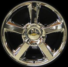 "NEW Chevy Silverado Tahoe Suburban Avalanche LTZ 20"" Chrome Wheels Rims TPMS"